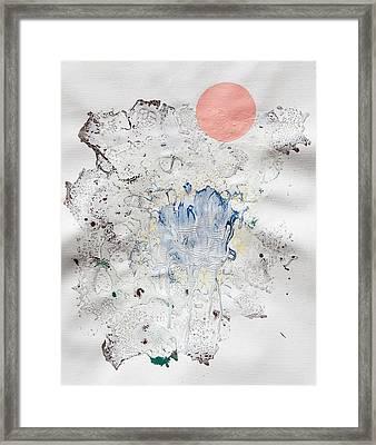 Starclast Framed Print