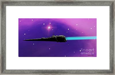 Starcruiser Framed Print by Corey Ford