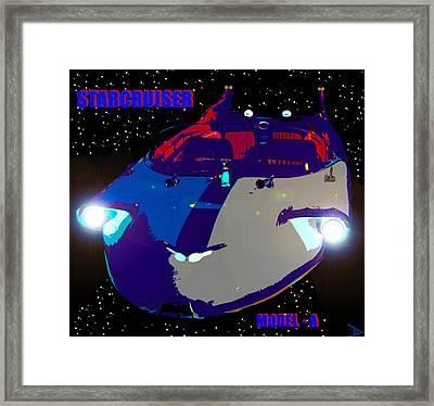 Starcruiser Model A Framed Print by David Lee Thompson