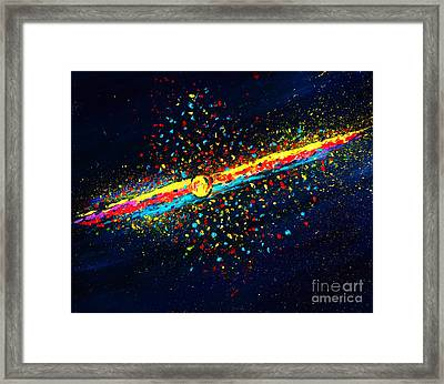 Stardust  Framed Print by Allison Constantino