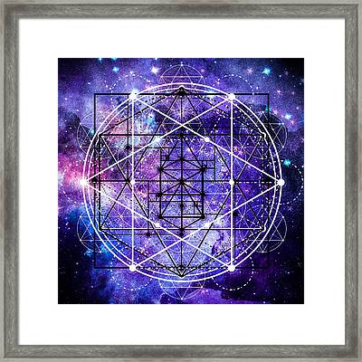 Framed Print featuring the digital art Stardust by Bee-Bee Deigner