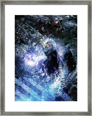 Stardust Framed Print by Cameron Gray