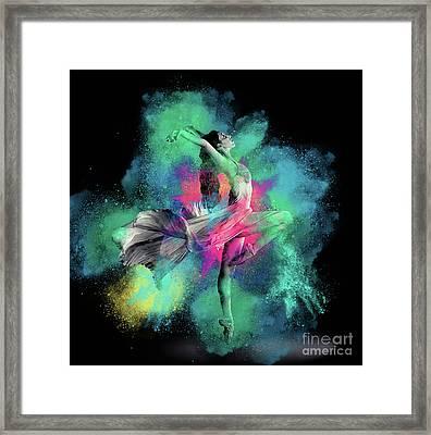 Stardust Dancer Framed Print