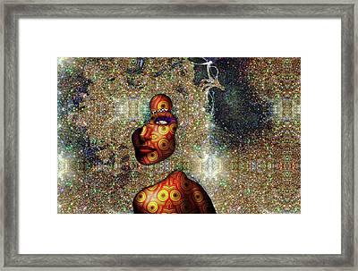 Stardust Framed Print by Kia Kelliebrew