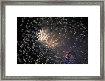 Stardust Framed Print by Monika Tymanowska