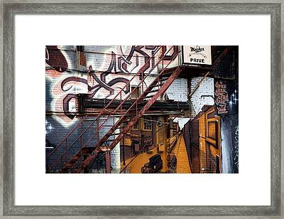 Stare Stair Framed Print by Lisa Knechtel