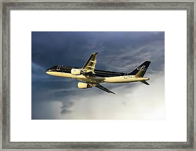 Starflyer Airbus A320-214 Framed Print