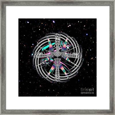 Stargate Wormhole Physics Framed Print