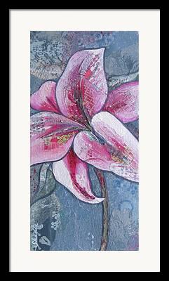 Stargazer Lilies Framed Prints