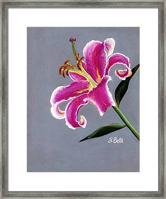 Stargazer Framed Print by Laura Bell