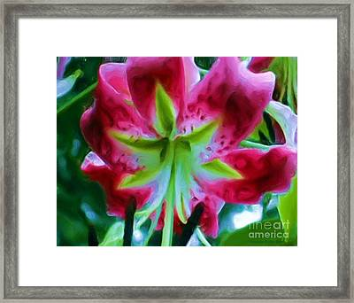 Framed Print featuring the photograph Stargazer  by Patricia Griffin Brett