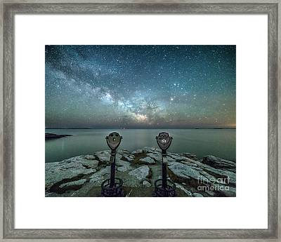 Stargazers Framed Print by Benjamin Williamson