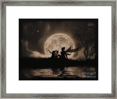 Stargazing Framed Print by Julie Fain