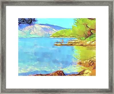Stari Grad - On The Beach V Framed Print