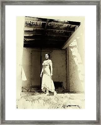 Starlet Framed Print by John Rizzuto