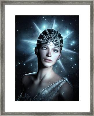 Starlight Framed Print by Britta Glodde