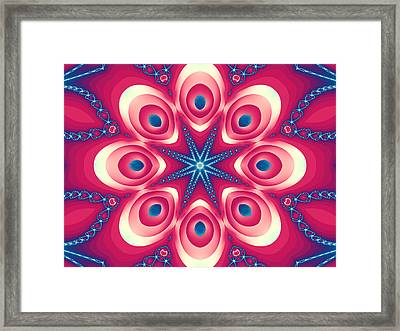 Starlight Chained Framed Print