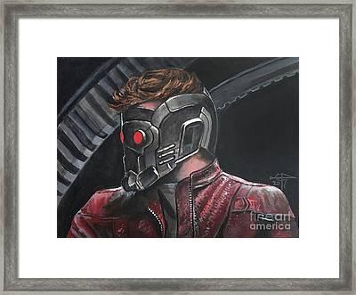 Starlord Framed Print by Tom Carlton