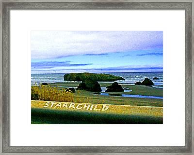 Starrchild Framed Print