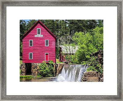 Starr's Mill 2 Framed Print