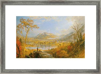 Starrucca Viaduct Framed Print by Asper Francis Cropsey