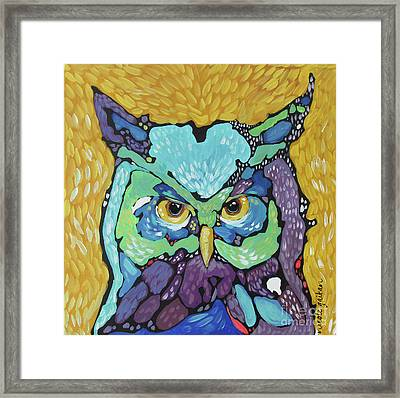 Starry Eyed Framed Print