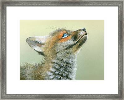 Starry Eyes Framed Print