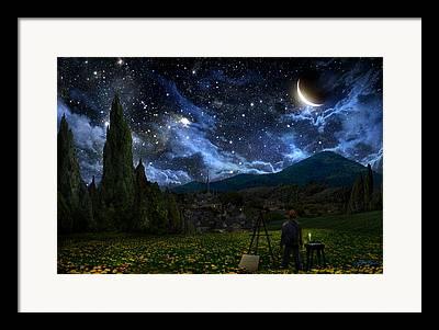 Serenity Scenes Framed Prints