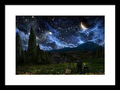 Night Framed Prints