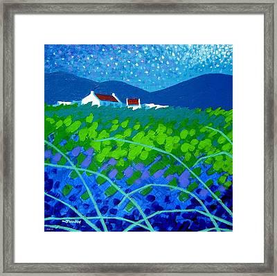 Starry Night In Wicklow Framed Print by John  Nolan