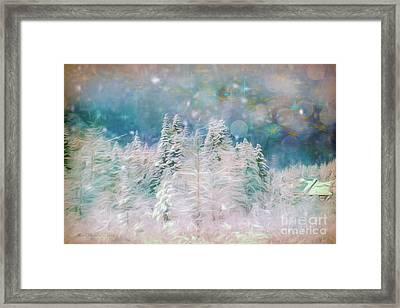 Starry Night Framed Print by Jean OKeeffe Macro Abundance Art