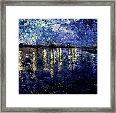 Starry Night Over Summit Lake Framed Print by Mark Orr