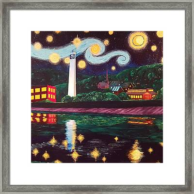 Starry Night With Little Joe Framed Print