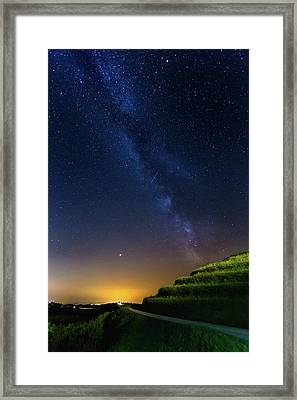 Framed Print featuring the photograph Starry Sky Above Me by Davor Zerjav