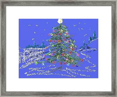 Starry, Starry Night Framed Print by Carol Berning