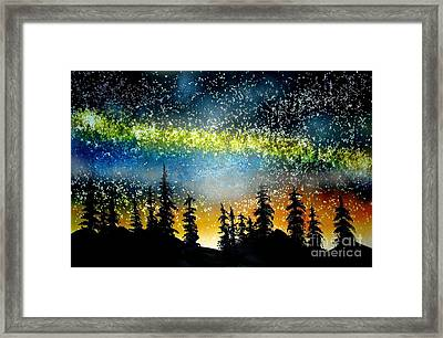 Starry Starry Night Framed Print by Ed Moore