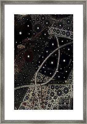 Starry Starry Night Framed Print by Ron Bissett