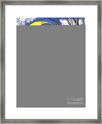 Starry Starry Night Framed Print by Sherie Balko-Nation
