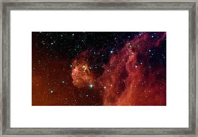 Stars Framed Print by American School