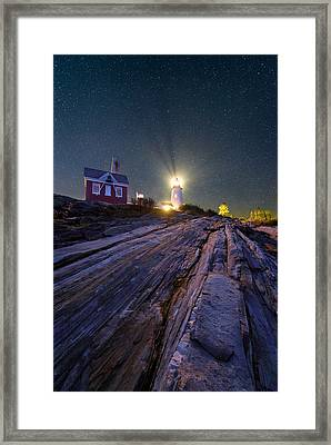 Stars And Stones Framed Print by Michael Blanchette