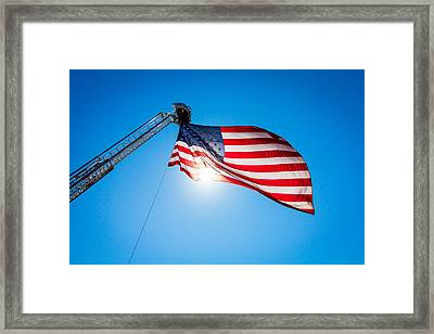 Stars And Stripes Forever Framed Print