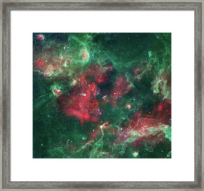 Framed Print featuring the photograph Stars Brewing In Cygnus X by Nasa