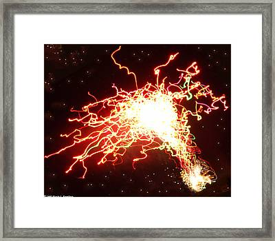 Star's End Framed Print by Nicole I Hamilton