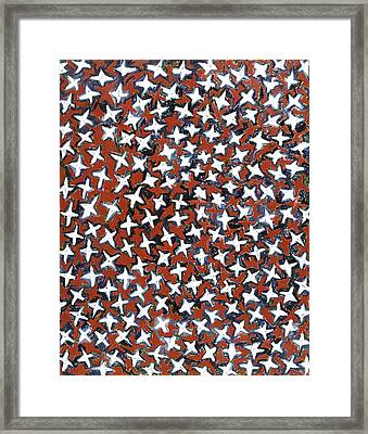 Stars Framed Print by Joan De Bot
