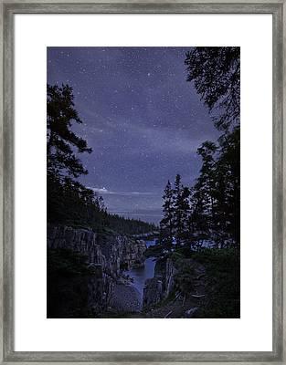 Stars Over Raven's Roost Framed Print
