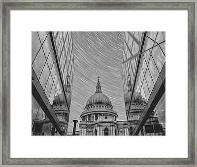 Stars Over St Pauls Framed Print