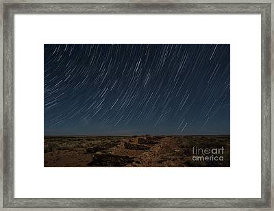 Stars Remain Unchanged Framed Print by Melany Sarafis