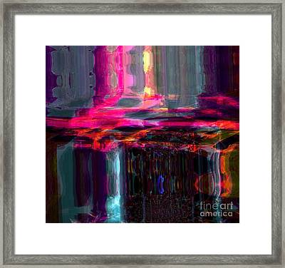 Start  Framed Print by Fania Simon