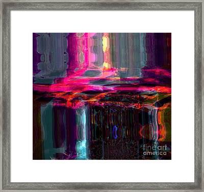 Start  Framed Print by Fania Simon