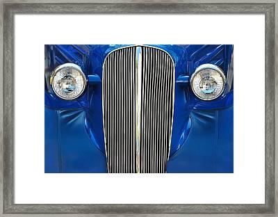 Startled Car Framed Print by Dan Holm